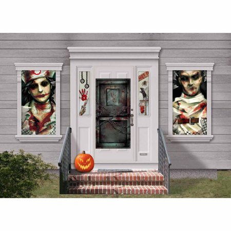 Asylum Halloween Party (Asylum Scene Setters Decor)