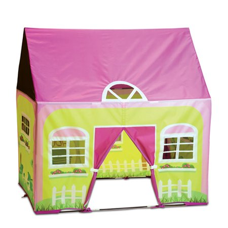 Cottage House Floorplans - The Cottage Playhouse, Pink