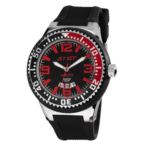 Jet Set WB30 Men's Watch with Black / Red Dial