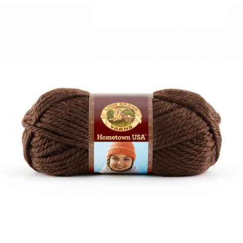 Lion Brand Yarn Hometown USA Tampa Spice 135-114 Classic Bulky Yarn