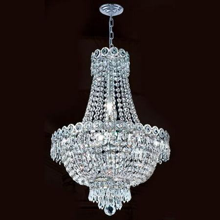 (Worldwide Lighting W83049C16 Empire 8 Light 1 Tier 16