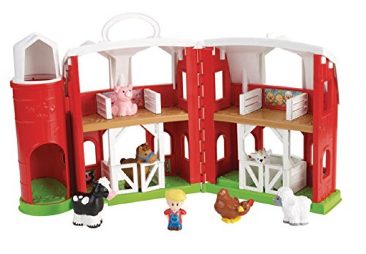 Fisher Price Little People Animal Friends Farm by FISHER PRICE