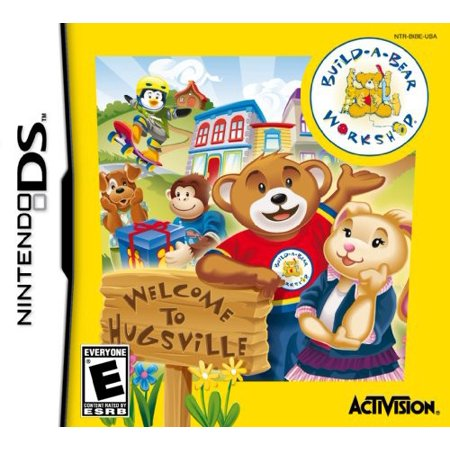Build A Bear  Welcome To Hugsville For Nintendo Ds