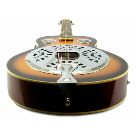 RESONATOR GUITAR Acoustic-Electric SEPELE SPRUCE Steel Pan Blues Jazz