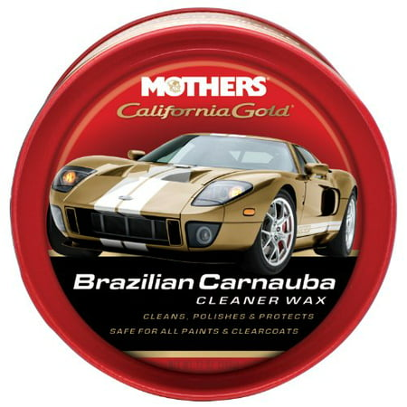 Mothers 05500 California Gold Brazilian Carnauba Cleaner Wax Paste - 12