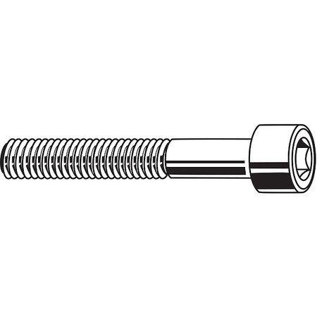 FABORY M12-1.75 x 200mm Black Oxide Steel Socket Head Cap Screw, 10 pk., M07000.120.0200