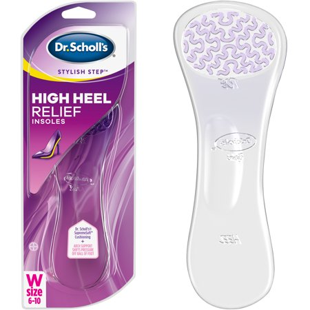 Dr. Scholls Stylish Step High Heel Relief Insoles, 1 Pair, Size (Soles Heels Inserts)