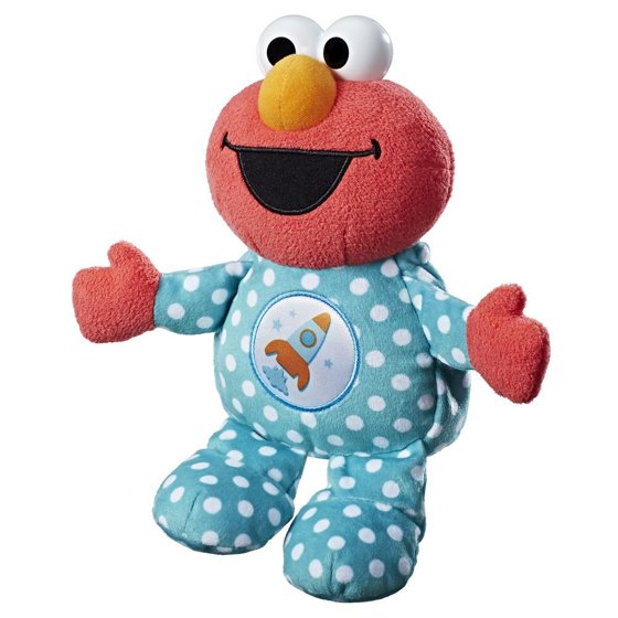 Sesame Street Snuggle Me In Friends Elmo Bedtime Plush