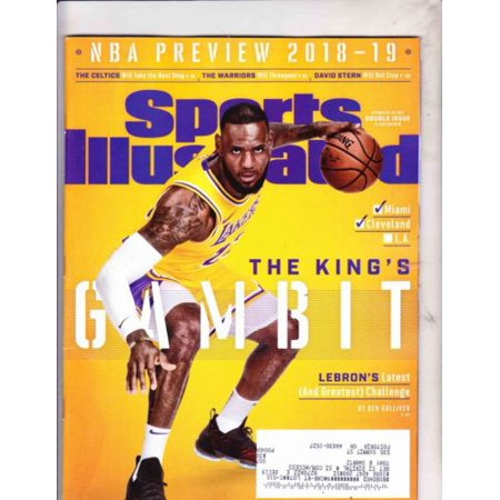 1980 Sports Illustrated Magazine - SPORTS ILLUSTRATED MAGAZINE OCTOBER 22 2018--LEBRON JAMES COVER