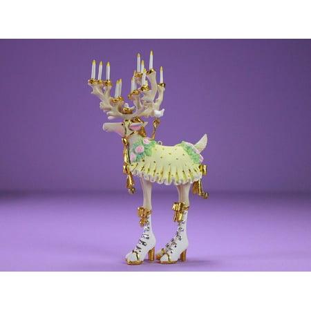 Patience Brewster Dash Away 31227 Moonbeam Donna Reindeer Orn.7