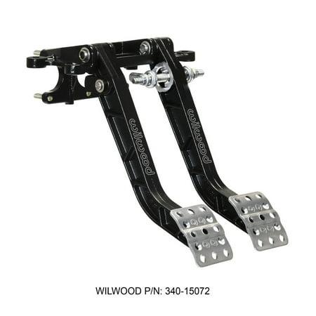 Wilwood Adjustable-Trubar Dual Pedal - Brake / Clutch - Fwd. Swing Mount - 6.25:1