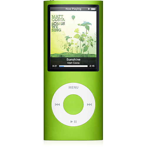Apple iPod Nano 4th Genertion 8GB Green Pre-Owned, Very G...