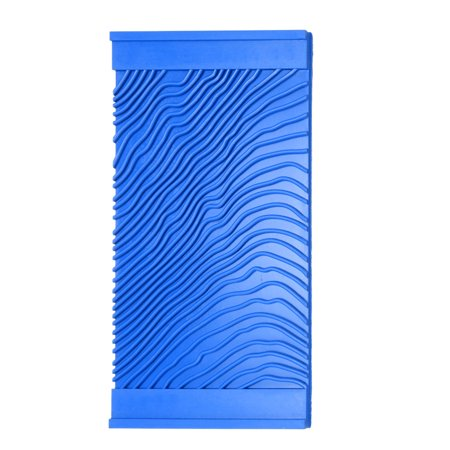 Wood Graining Rubber Grain Tool Pattern Wall Painting Decorating DIY Blue 4.8'' Wide - image 5 de 5