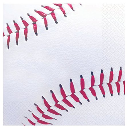 Baseball Beverage Napkins - 16 - Baseball Napkins