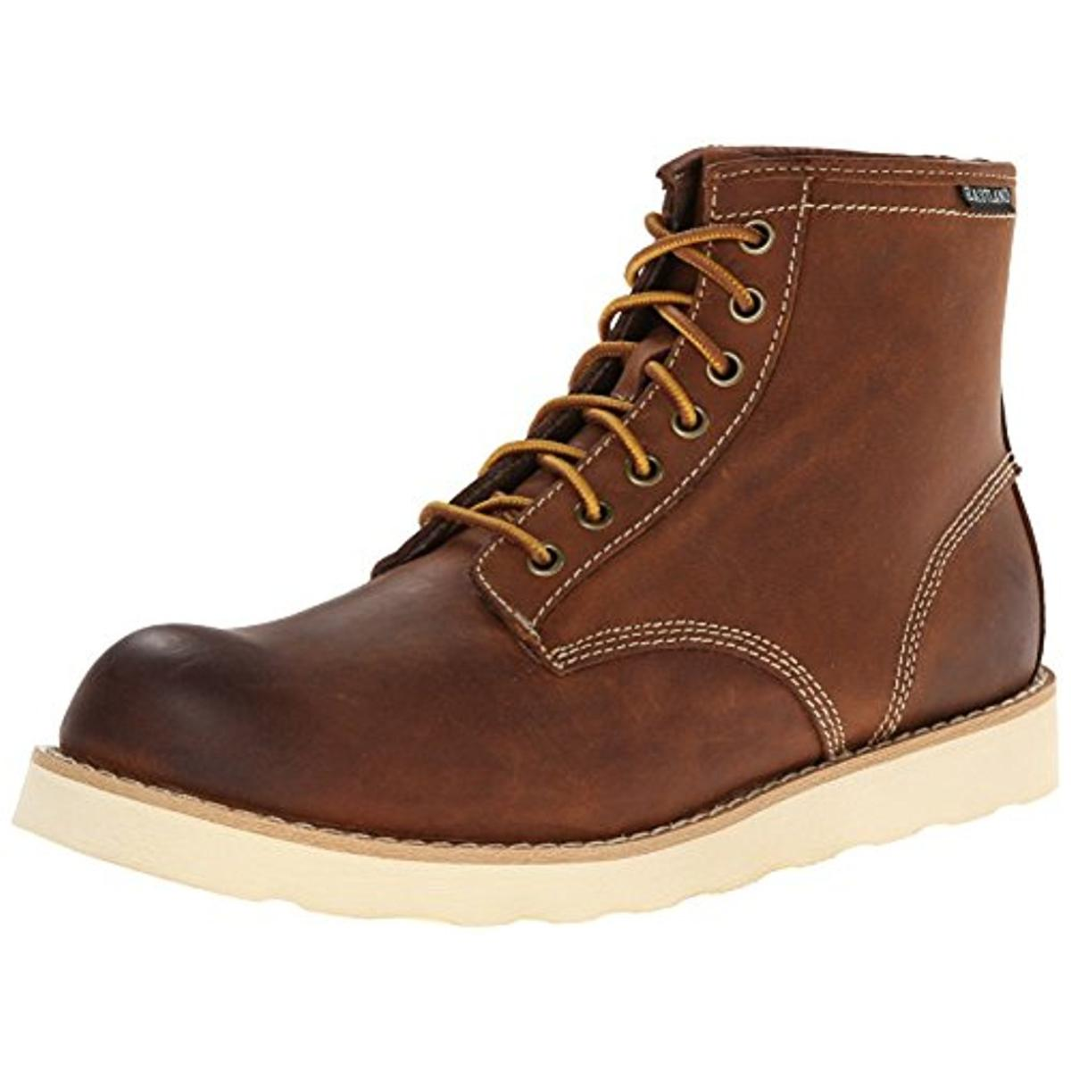 Eastland Mens Bandera Leather Lace-Up Boot