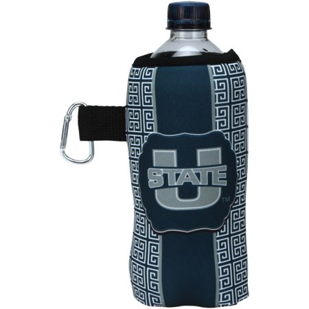 Utah State Aggies Greek Key Water Bottle Caddy - No Size ()