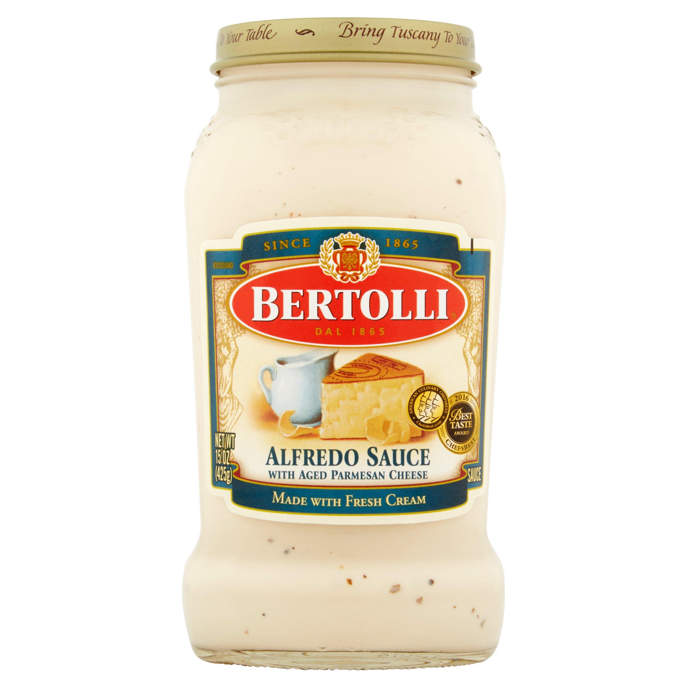 (2 pack) Bertolli Alfredo Sauce 15 oz