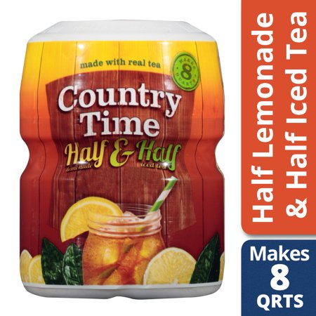 Country Time Half Lemonade & Half Iced Tea Drink Mix, 19 oz Jar - Halloween Drinks Dry Ice Alcoholic