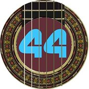 labella 416 stainless steel classical guitar strings, medium