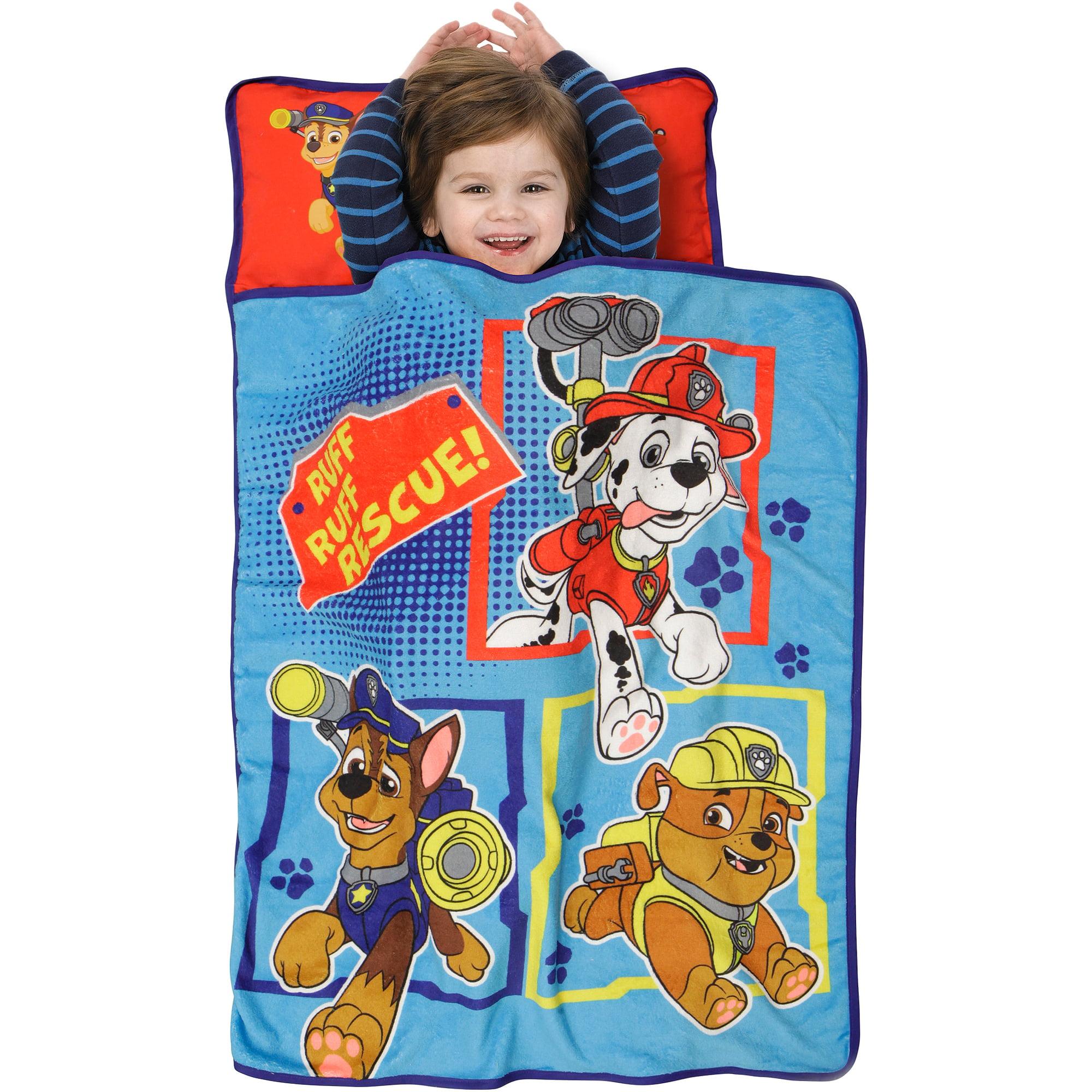 Nickelodeon Paw Patrol Ruff Ruff Rescue Toddler Nap Mat