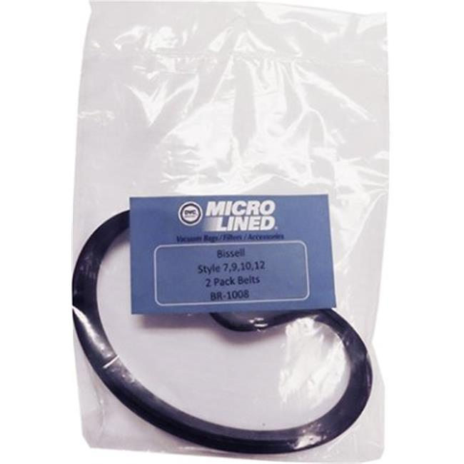 Bissell BR-1008 Style 7, 9, 10, 12 & 16 Vacuum Cleaner Belt - image 1 of 1