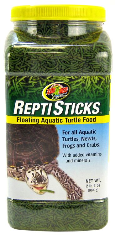 Zoo Med Repti Sticks Floating Aquatic Turtle Food 2.2 lbs by Zoo Med