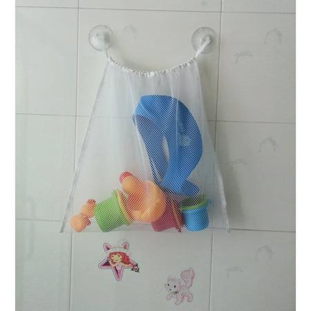 Kids Baby Toddler Bath Toys Organizer Holder Hanging Storage Mesh Bag 18