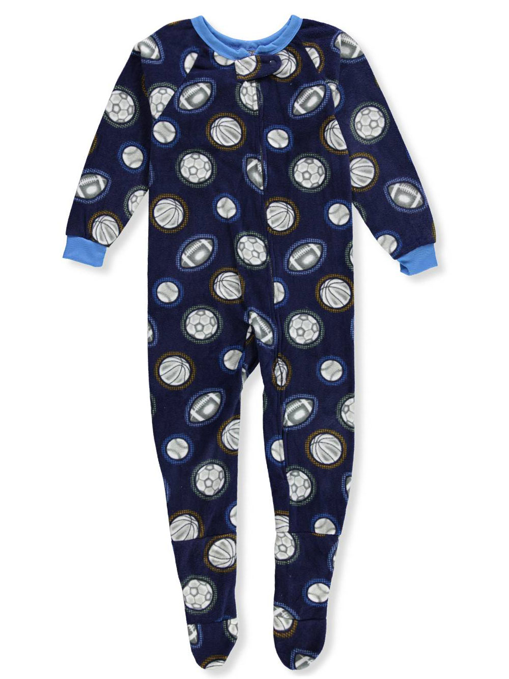Quad Seven Boys' 1-Piece Footed Pajamas