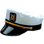 Franco American Novelty 28282 Skipper Hat - White