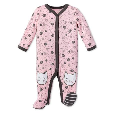 Lamaze Newborn Baby Girl Organic Cotton Sleep N' Play