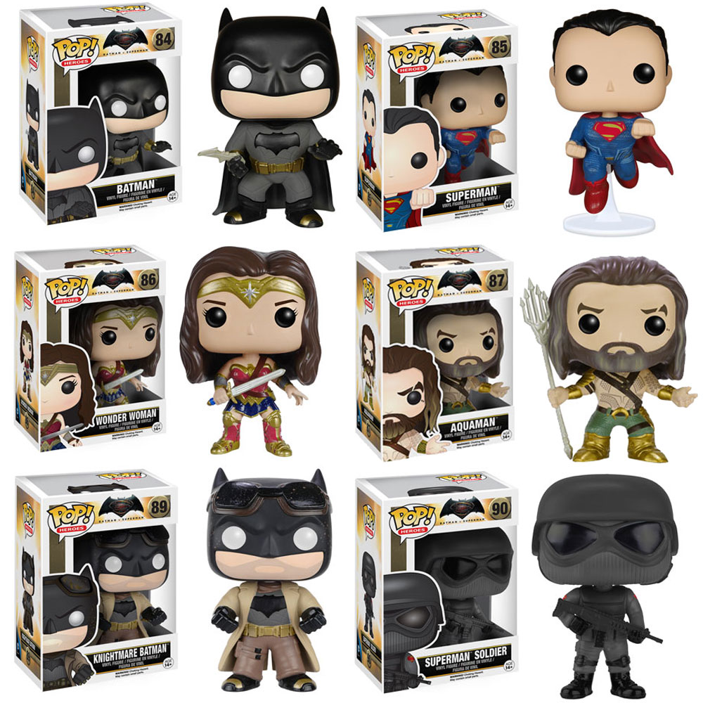 Funko POP! Movies - Batman v Superman - Vinyl Figures - SET OF 6