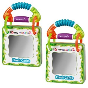 Munchkin Traveling Flash Cards, 2 Pack