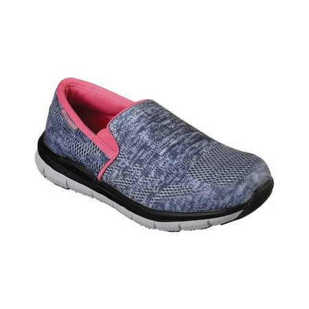 b63b304727fc Skechers Work - Women s Skechers Work Relaxed Fit Comfort Flex Pro HC SR II  Slip-On - Walmart.com