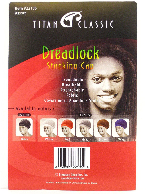 2ff341d39b0 Classic Dreadlock Stocking Cap (White)