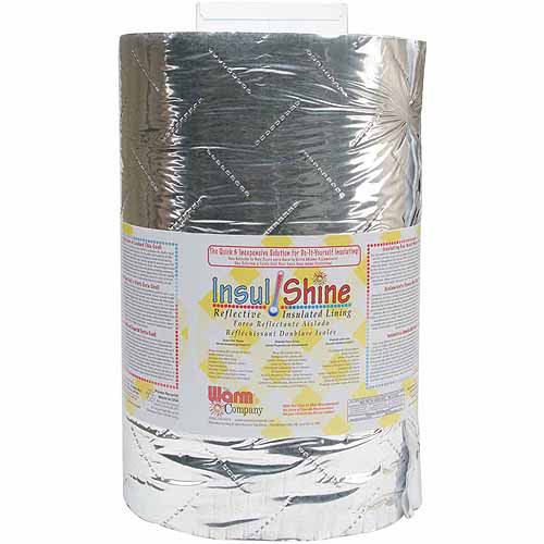 "Insul-Shine Reflective Insulated Lining, 45"" x 10 yds"