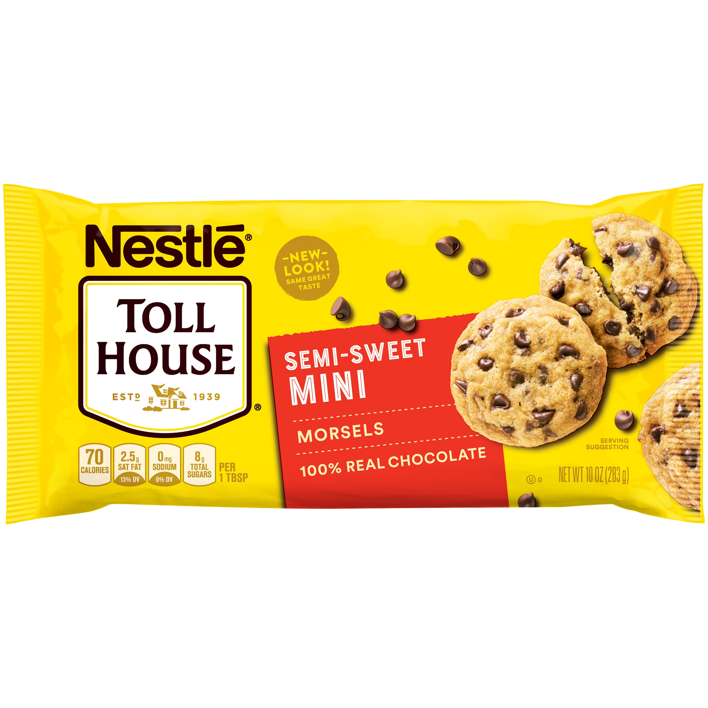NESTLE TOLL HOUSE Semi-Sweet Mini Morsels 10 oz. Bag