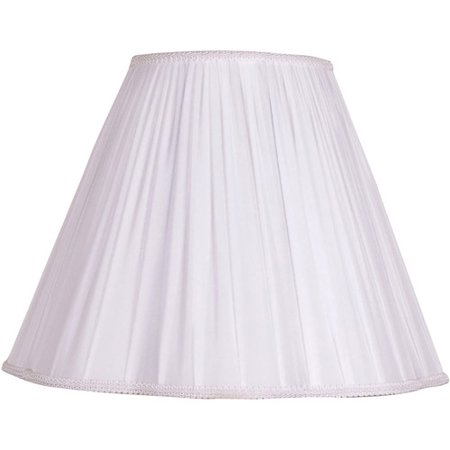 Better Homes & Gardens Scallop Wrap Lamp Shade, (Antique White Lamp Shade)