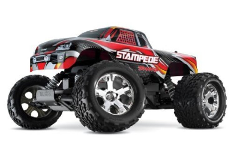Traxxas 36054-1 Stampede: Monster Truck, Ready-To-Race (1 10 Scale), Colors May Vary by TRAXXAS