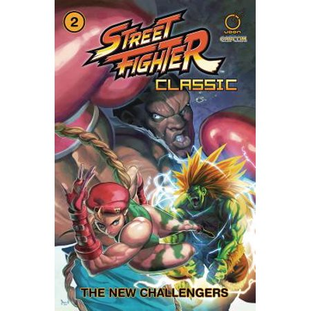 Street Fighter Classic Volume 2: The New (Super Street Fighter 2 The New Challengers Moves)