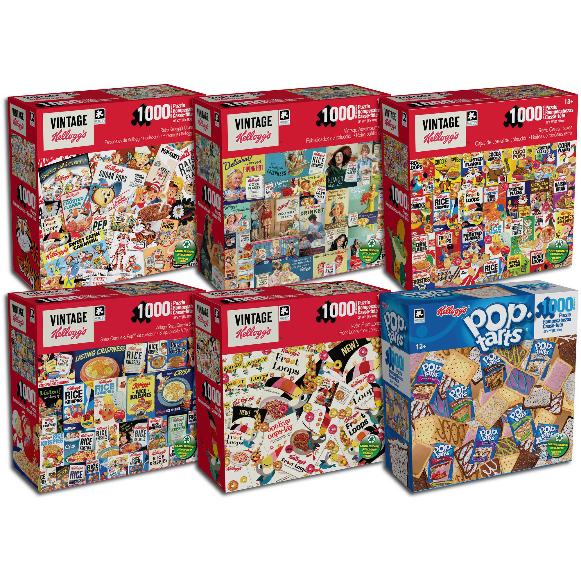 "1000-Piece Kellogg's 27"" x 20"" Puzzle by Karmin Industries"