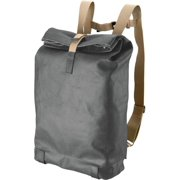 Pickwick Day Pack Large 24L Asphalt Grey Roll Top Cotton Canvas Leather