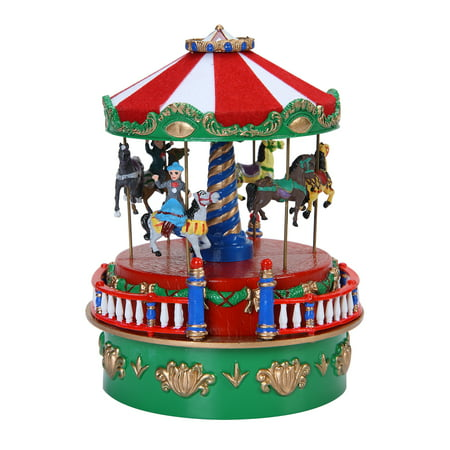 Mini Carnival Music Boxes - Carousel](This Is Halloween Music Box)