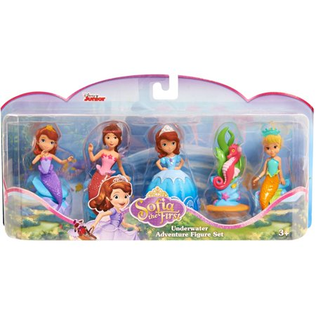 Sofia The First Royal Friends Figure Set - Mermaid - Sofia The Frist