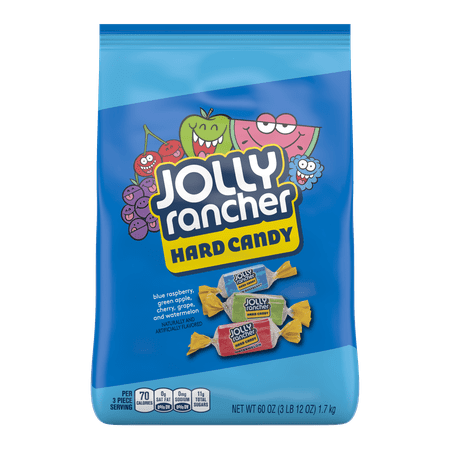 Jolly Rancher Suckers (Jolly Rancher, Assorted Hard Candy Original Flavors, 60)