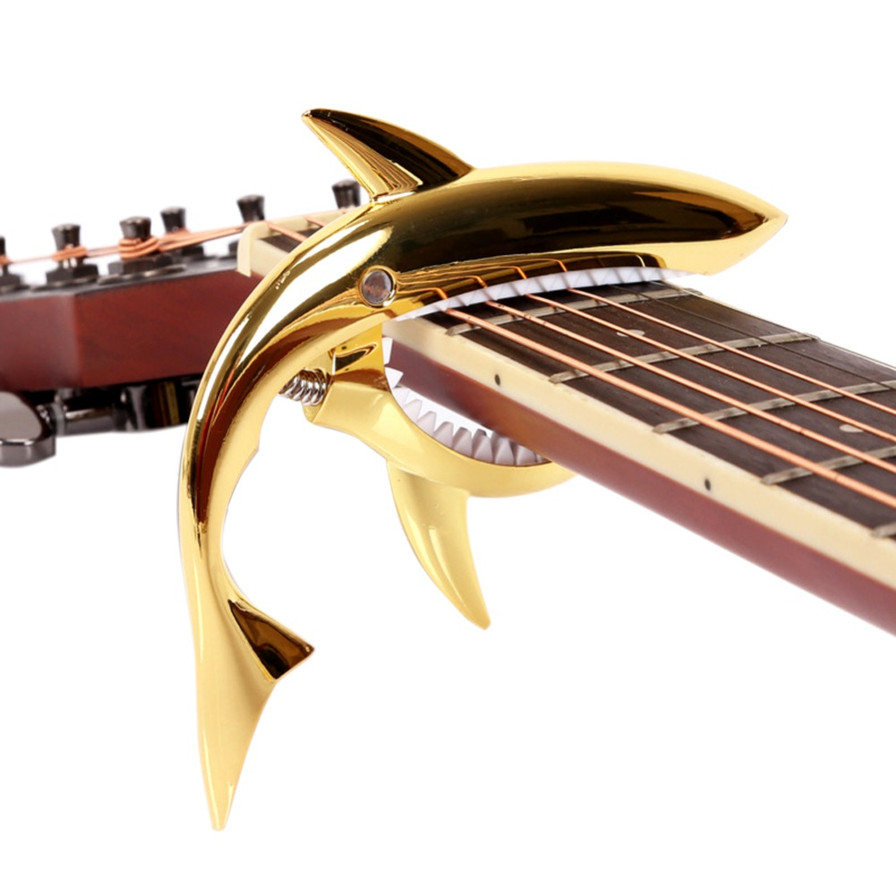 Shark Guitar Capo for Electric and Acoustic Guitar / Folk Guitar Capo / Guitar Accessories