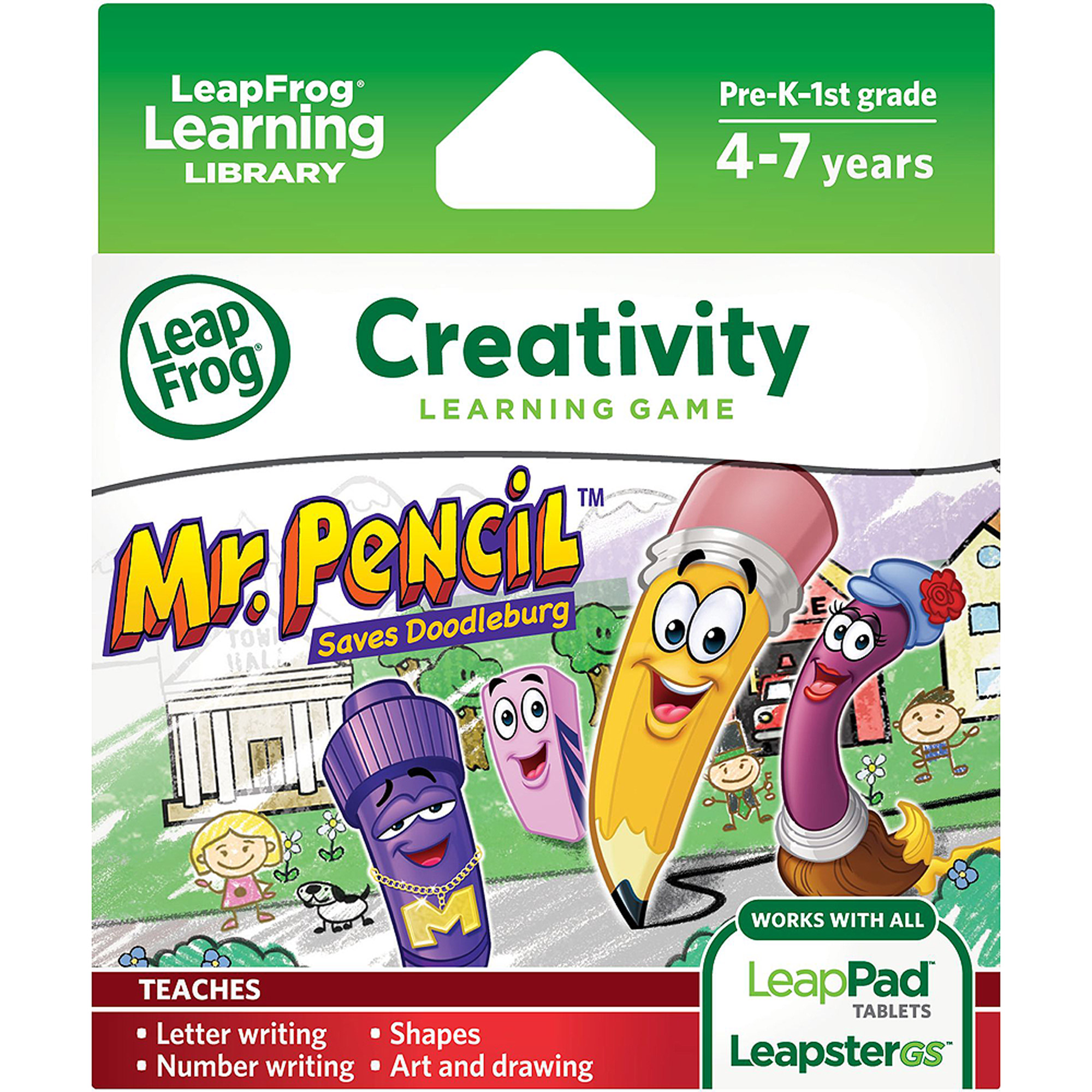 LeapFrog Explorer & LeapPad Learning Game: Mr. Pencil Saves Doodleburg