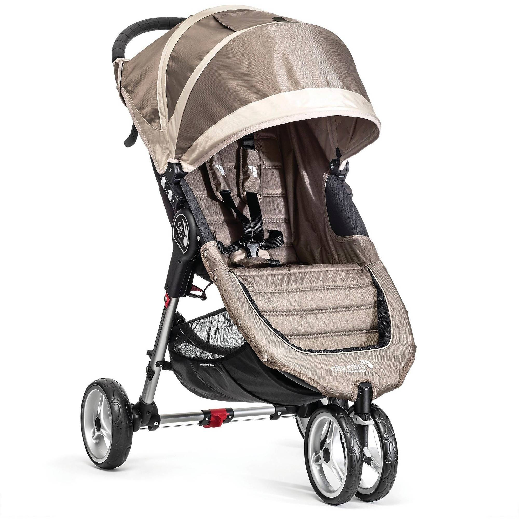 Baby Jogger City Mini Single Stroller, Sand/Gray