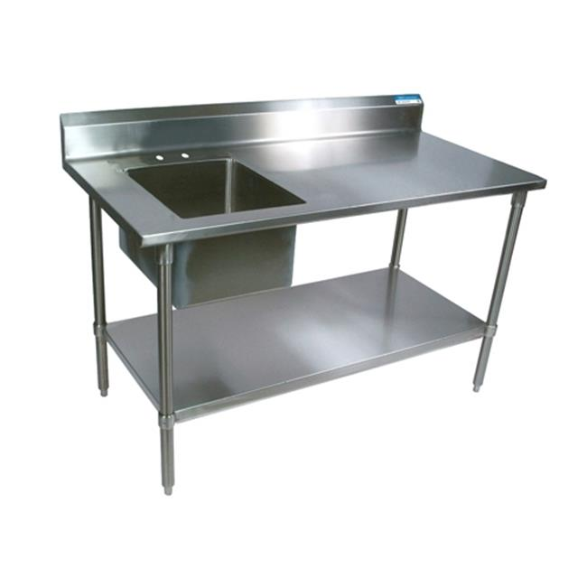 Diversified Woodcrafts 250495 Stainless Steel Prep Table,...