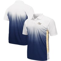 Georgia Tech Yellow Jackets Colosseum Magic II Polo - Navy