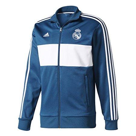 8b52514c710 adidas - Men s adidas Blue White Real Madrid Full-Zip Track Jacket -  Walmart.com